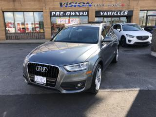 Used 2015 Audi Q3 FrontTrak 4dr 2.0T Progressiv-PANORAMIC SUNROOF for sale in North York, ON