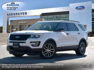 Used 2017 Ford Explorer SPORT for sale in Ottawa, ON