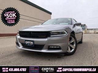 Used 2015 Dodge Charger SXT *Heated Seats *Remote Start *Keyless Start for sale in Winnipeg, MB