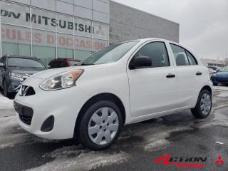 Used 2017 Nissan Micra 4dr HB Manuel S, *24$/sem*, BAS KM+TRÈS PROPRE for sale in St-Hubert, QC