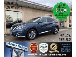 Used 2018 Nissan Murano SL* Awd/Nav/Pano/Htd seats for sale in Winnipeg, MB
