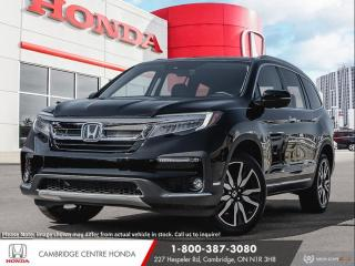 New 2021 Honda Pilot Touring 8P REMOTE ENGINE STARTER | APPLE CARPLAY™ & ANDROID AUTO™ | HONDA SENSING TECHNOLOGIES for sale in Cambridge, ON