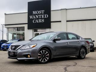 Used 2018 Nissan Altima SV|CAMERA|REMOTE START|ALLOYS|HEATED SEATS & STEERING for sale in Kitchener, ON