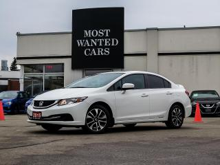 Used 2015 Honda Civic EX|BLIND SPOT|CAMERA|TOUCHSCREEN|BLUETOOTH|ALLOYS for sale in Kitchener, ON