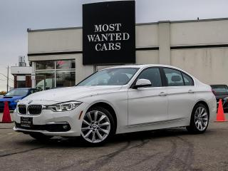 Used 2017 BMW 330xi xDRIVE|NAV|CAMERA|FRONT+REAR SENSORS|HEATED SEATS + STEEERING|ALLOYS for sale in Kitchener, ON