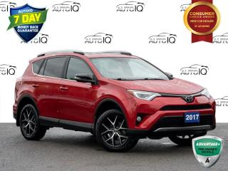 Used 2017 Toyota RAV4 SE LEATHER UPHOLSTERY   CLEAN CARFAX for sale in St Catharines, ON