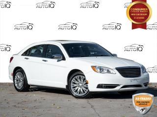 Used 2014 Chrysler 200 Limited SELLING AS IS | CLEAN CARFAX | SUNROOF | LEATHER for sale in St Catharines, ON