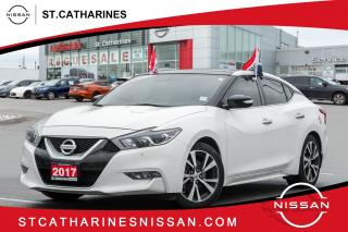 Used 2017 Nissan Maxima SL Lease Return | Accident Free | Navi |Roof | Leather for sale in St. Catharines, ON
