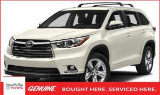 Used 2015 Toyota Highlander Limited LIMITED AWD - NEW BRAKES - PANORAMIC GLASS ROOF - BLIND SPORT MONITOR for sale in Stouffville, ON