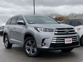 Used 2019 Toyota Highlander Limited HEATED STEERING/ SEATS, LEATHER for sale in Midland, ON