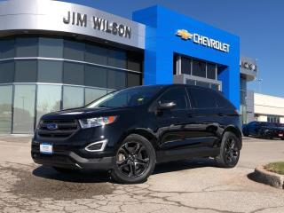 Used 2018 Ford Edge SEL AWD ROOF NAV HEATED STEERING WHEEL/SEATS for sale in Orillia, ON