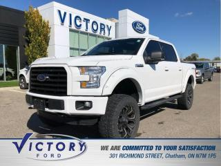 Used 2016 Ford F-150 XLT| 6 INCH LIFT|  35 INCH MICKEY THOMPSONS| ROOF| for sale in Chatham, ON