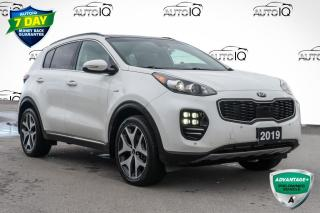 Used 2019 Kia Sportage SX Turbo AWD LEATHER INTERIOR for sale in Innisfil, ON
