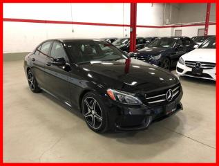 Used 2017 Mercedes-Benz C-Class C300 4MATIC NIGHT PKG PREMIUM PKG LED HEATED STEERING for sale in Vaughan, ON
