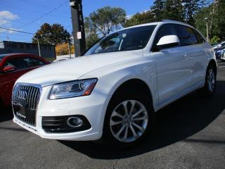 Used 2017 Audi Q5 2.0T|NAVIGATION PKG|PANORAMA|AUDI PARKING SYSTEM for sale in Burlington, ON