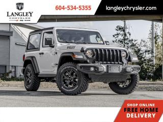 New 2021 Jeep Wrangler Willys Sport for sale in Surrey, BC