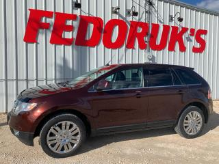 Used 2010 Ford Edge Limited for sale in Headingley, MB