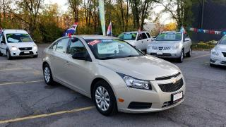 Used 2011 Chevrolet Cruze LS+ w/1SB for sale in Burlington, ON