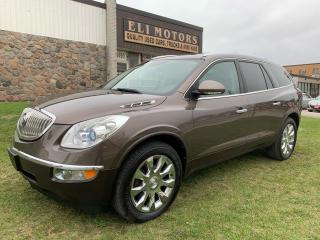 Used 2011 Buick Enclave CXL2 AWD 7 PASS NAVI TV-DVD REAR CAMERA PANO ROOF for sale in North York, ON