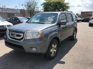 Used 2011 Honda Pilot LEATHER,8 PASS,SAFETY+3 YEARS WARRANTY INCLUDED for sale in Toronto, ON