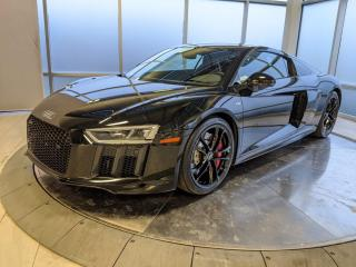 Used 2018 Audi R8 Coupe V10 RWS | Rear Wheel Drive | 1 of 999 for sale in Edmonton, AB