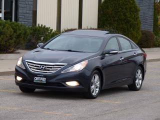 Used 2011 Hyundai Sonata LEATHER,LIMITED,FULLY LOADED,NO-ACCIDENT,CERTIFIED for sale in Mississauga, ON