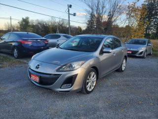Used 2010 Mazda MAZDA3 GT SPORT LEATHER SUNROOF for sale in Stouffville, ON