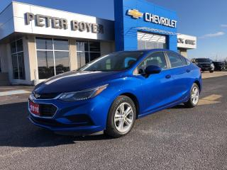 Used 2018 Chevrolet Cruze LT Sedan Automatic LT for sale in Napanee, ON