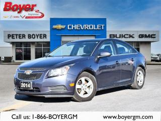 Used 2014 Chevrolet Cruze 2LT for sale in Napanee, ON