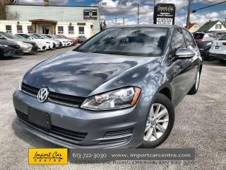 Used 2015 Volkswagen Golf 1.8 TSI Trendline AUTO  CLOTH  ALLOYS  HTD SEATS for sale in Ottawa, ON
