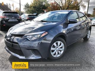 Used 2014 Toyota Corolla LE AUTO  CLOTH  A/C  PWR WIN for sale in Ottawa, ON