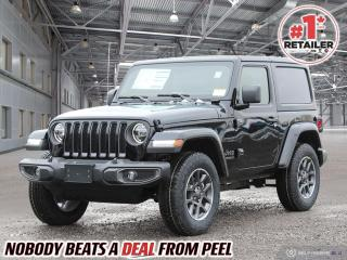 New 2021 Jeep Wrangler Sport 80th Anniversary for sale in Mississauga, ON