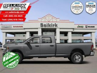 New 2020 RAM 2500 Big Horn for sale in Selkirk, MB