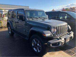 Used 2018 Jeep Wrangler SAHARA 4X4 for sale in Hamilton, ON