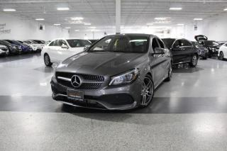 Used 2018 Mercedes-Benz CLA-Class CLA250 I NAVIGATION I LEATHER I HEATED SEATS I POWER OPTIONS for sale in Mississauga, ON