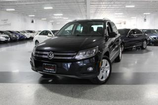 Used 2016 Volkswagen Tiguan NO ACCIDENTS I LEATHER I PANOROOF I HEATED SEATS I REAR CAM for sale in Mississauga, ON