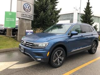 Used 2020 Volkswagen Tiguan Highline 4MOTION for sale in Surrey, BC