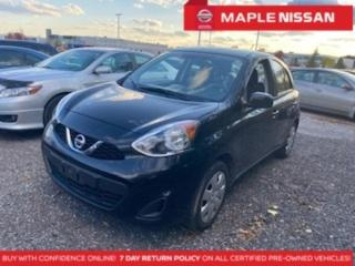 Used 2016 Nissan Micra 1.6 SV Handsfree Bluetooth A/C Keyless Entry Clean for sale in Maple, ON