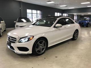 Used 2015 Mercedes-Benz C-Class C 300 4MATIC*AMG SPORT PKG*NAV*BACK-UP CAM*PANO*ON for sale in North York, ON