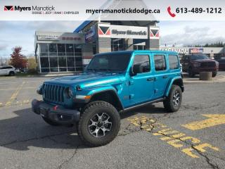 Used 2020 Jeep Wrangler Unlimited Rubicon  - Dana Axles for sale in Ottawa, ON