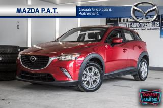 Used 2018 Mazda CX-3 AUTOMATIQUE,CAMÉRA DE RECUL,BLUETOOTH,BLUETOOTH for sale in Montréal, QC