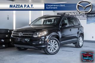 Used 2017 Volkswagen Tiguan 4MOTION,AUTOMATIQUE,CAMÉRA DE RECUL,TOIT OUVRANT for sale in Montréal, QC