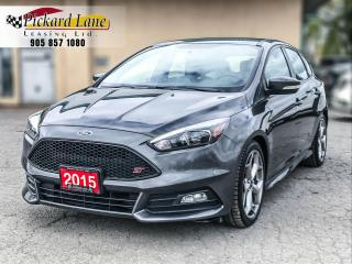Used 2015 Ford Focus ST ACCIDENT FREE! | ONTARIO VEHICLE! for sale in Bolton, ON