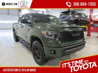 New 2020 Toyota Tundra TRD PRO Crewmax 4x4 for sale in Moose Jaw, SK