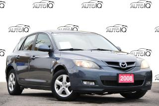 Used 2008 Mazda MAZDA3 GX | FWD | KEYLESS ENTRY | 5-SPEED MANUAL for sale in Kitchener, ON