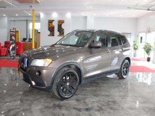 Used 2013 BMW X3 xDrive28i Moonroof, Leather, Black Rims,No Accident for sale in Richmond Hill, ON