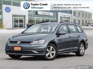 Used 2019 Volkswagen Golf Sportwagen 1.8T Cmfrtline DSG 6sp at w/Tip 4MOTION for sale in Orleans, ON