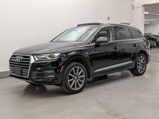 Used 2017 Audi Q7 VENTILATED SEATS/7PASS/PANO/DVD/NO ACCIDENTS! for sale in Toronto, ON