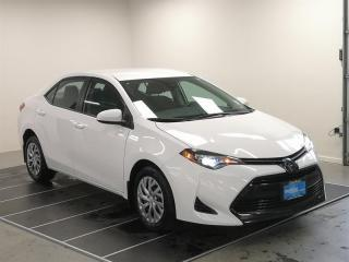 Used 2019 Toyota Corolla 4-door Sedan LE CVTi-S for sale in Port Moody, BC