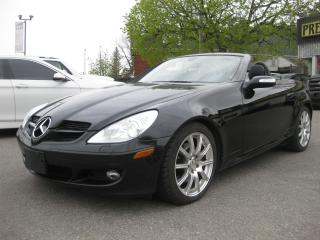 Used 2007 Mercedes-Benz SLK 280 3.0L Auto Convertible AC htd leather PL PM PW for sale in Ottawa, ON
